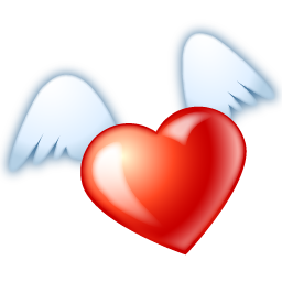 flying-heart-icon