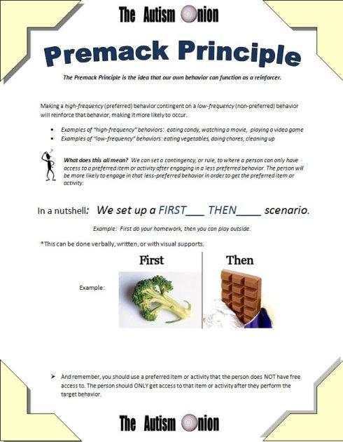 PremackHANDOUT
